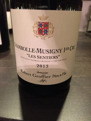 2013 Domaine Robert Groffier Chambolle-Musigny 1er Cru Les Sentiers (750ml)