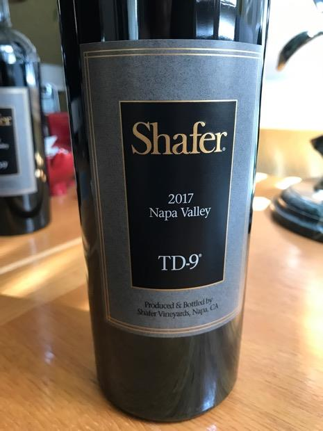2017 Shafer TD-9 Red Blend Napa Valley (750ml)