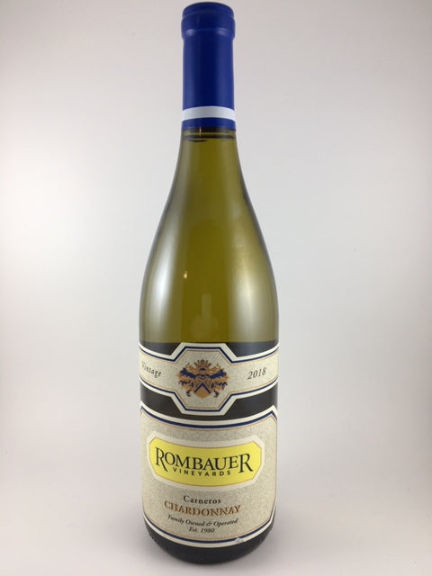 2018 Rombauer Vineyards Carneros Chardonnay (750ml)