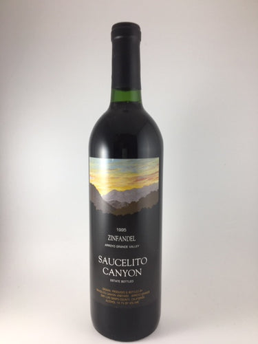 1995 Saucelito Canyon Arroyo Grande Valley Zinfandel (750ml)