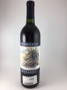 1995 Richardson Sonoma Zinfandel (750ml)
