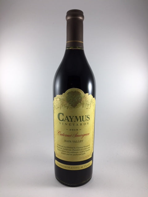2018 Caymus Napa Valley Cabernet Sauvignon (750ml)