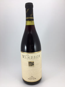 "1997 Windsor Vineyards ""Signature Series"" California Pinot Noir (750ml)"