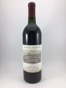 1990 Barnett Vineyards Napa Valley Cabernet Sauvignon (750ml)