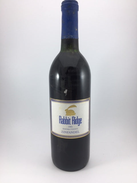 1995 Rabbit Ridge Sonoma County Zinfandel (750ml)