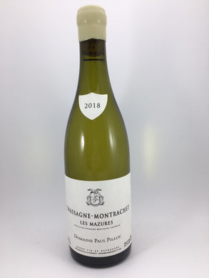 2018 Paul Pillot Chassagne-Montrachet Les Mazures (750ml)