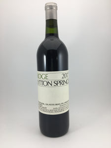 "2017 Ridge Vineyards ""Lytton Springs"" Dry Creek Valley Zinfandel Blend (750ml)"