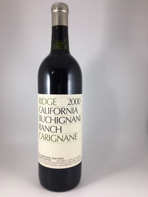 2000 Ridge Vineyards