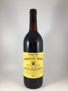 "1992 Tyrrell's Wines ""Long Flat Red"" Hunter Valley Red Blend (750ml)"