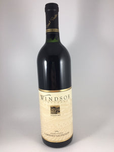"1996 Windsor Vineyards ""Signature Series"" Sonoma Cabernet Sauvignon (750ml)"