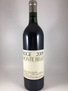"2009 Ridge Vineyards ""Monte Bello Vineyard"" Santa Cruz Mountains Cabernet Sauvignon (750ml)"