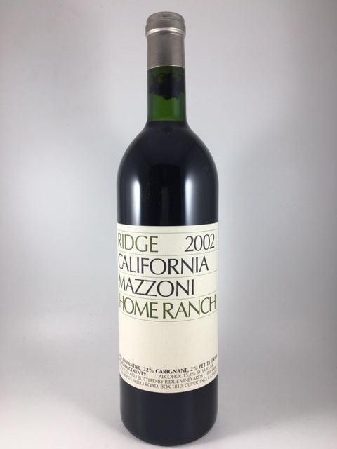 2002 Ridge Vineyards