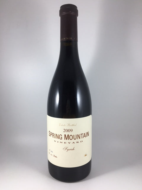2009 Spring Mountain Vineyard Napa Valley Syrah (750ml)