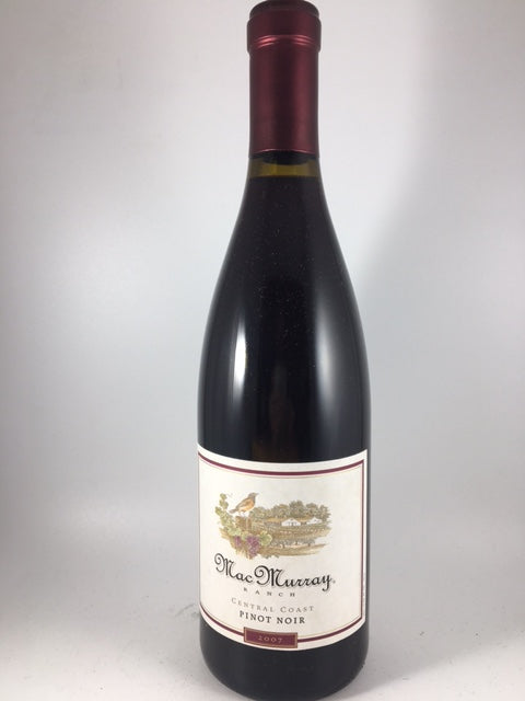 2007 MacMurray Ranch Central Coast Pinot Noir (750ml)