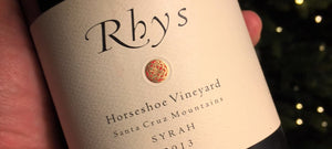 "2013 Rhys Vineyards ""Horseshoe Vineyard"" Santa Cruz Mountains Syrah (750ml)"
