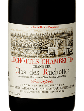 2014 Domaine Armand Rousseau Ruchottes-Chambertin Clos des Ruchottes (750ml)