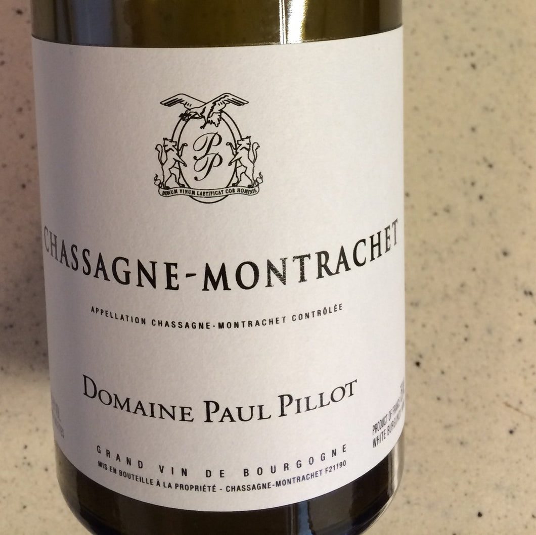 2018 Paul Pillot Chassagne-Montrachet (750ml)