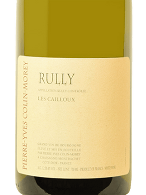 2018 Pierre-Yves Colin-Morey Rully Les Cailloux