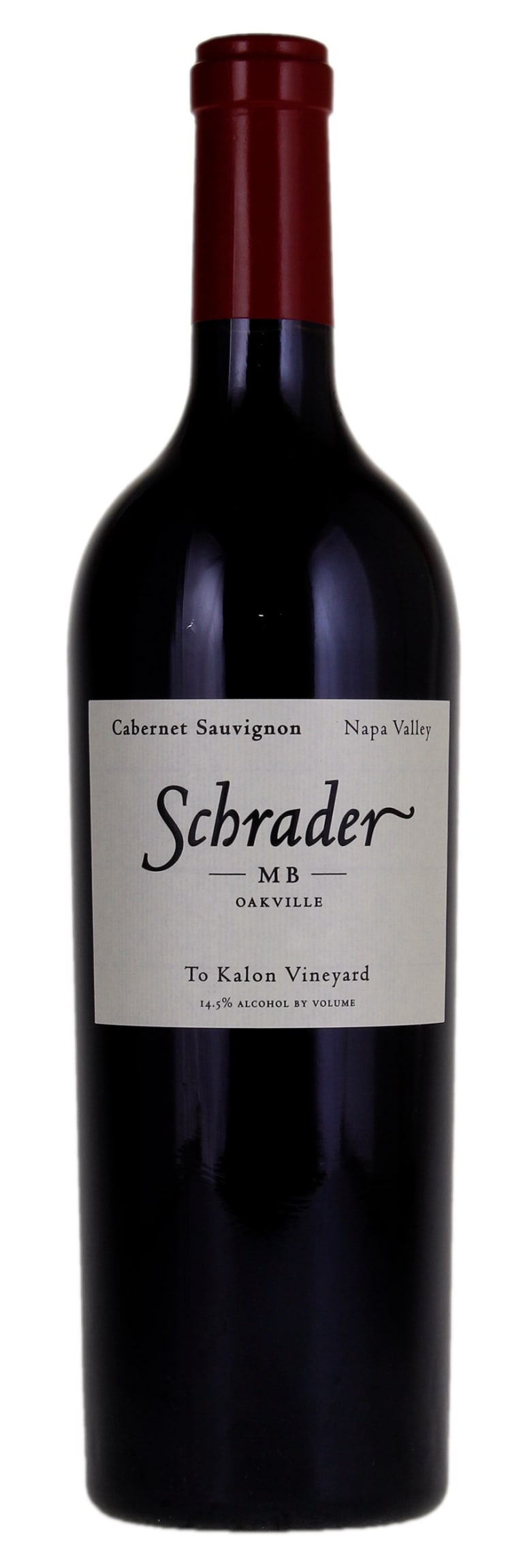 2018 Schrader Cellars Cabernet Sauvignon MB To Kalon Vineyard (750ml)