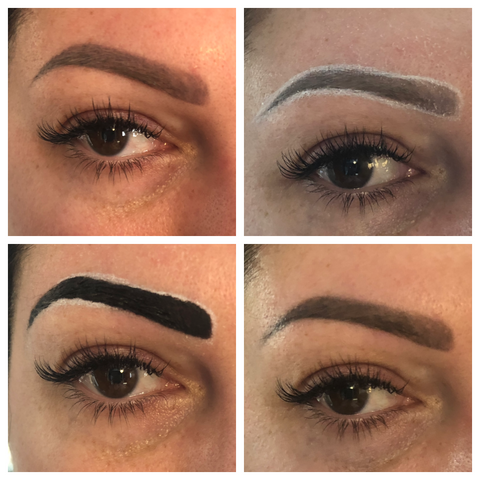 Elleebana Brow Henna Case Study Example Right