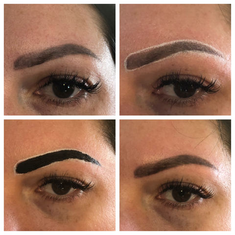 Elleebana Brow Henna Case Study Example Left