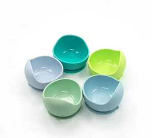 Food Grade Silicone Feeding Bowl w/ Spoon