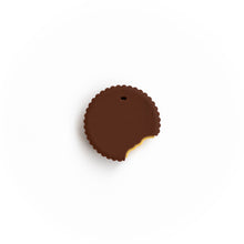Load image into Gallery viewer, Chocolate Covered Peanut Butter Cup Silicone Teething Pendant©