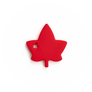 Maple Leaf Silicone Teething Pendant©