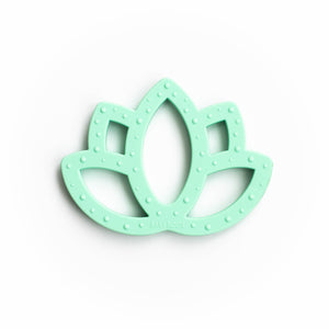 Lotus Flower Silicone Teething Pendant©