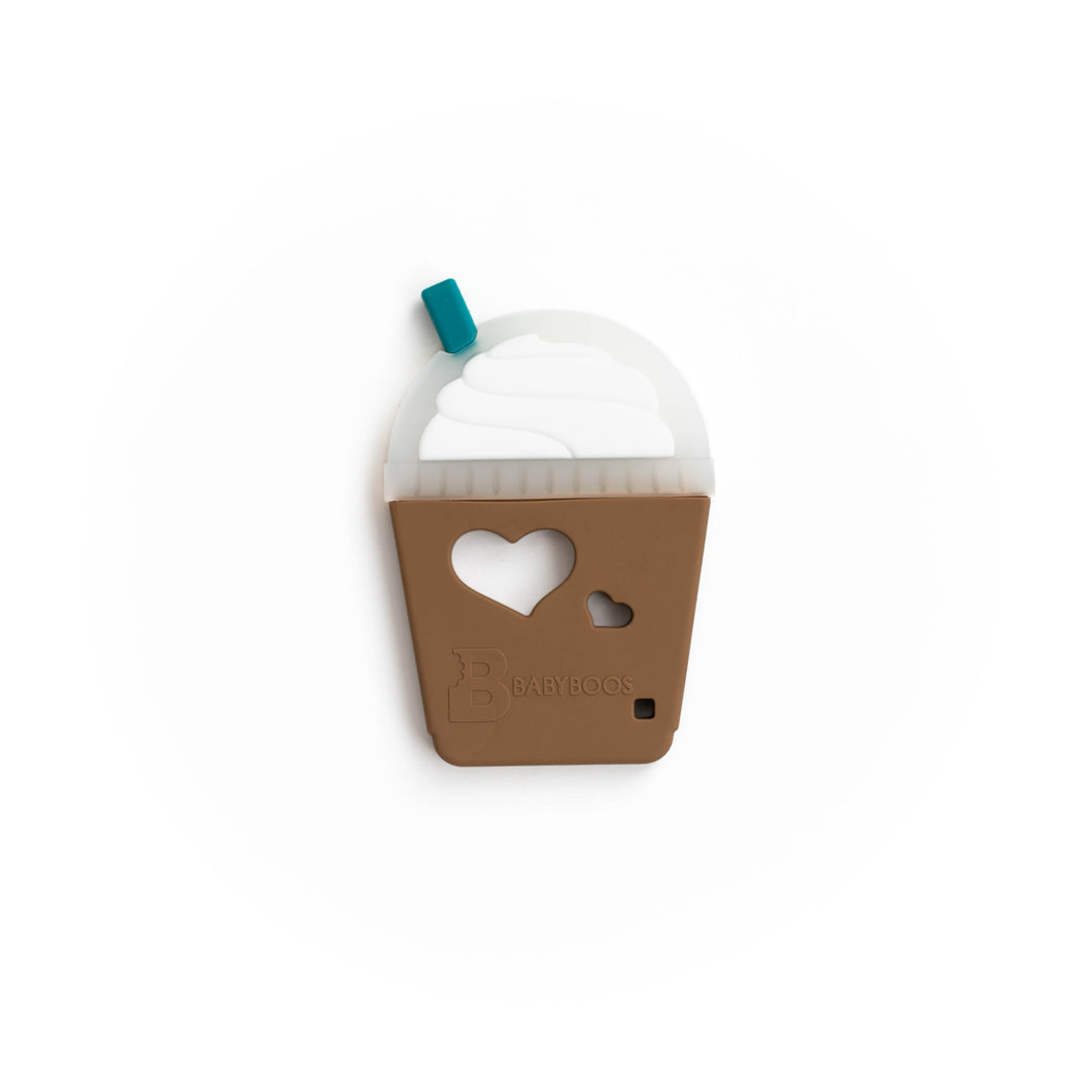 Frappuccino Silicone Teething Pendant©