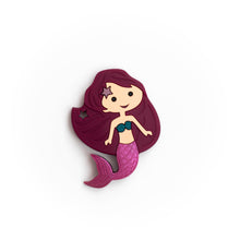 Load image into Gallery viewer, Mermaid Silicone Teething Pendant©