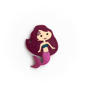 Mermaid Silicone Teething Pendant©