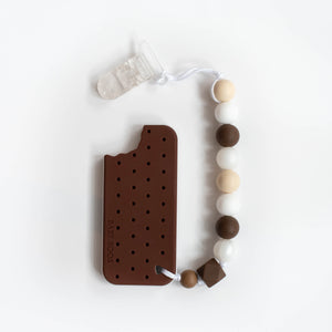Ice Cream Sandwich Teething Clip