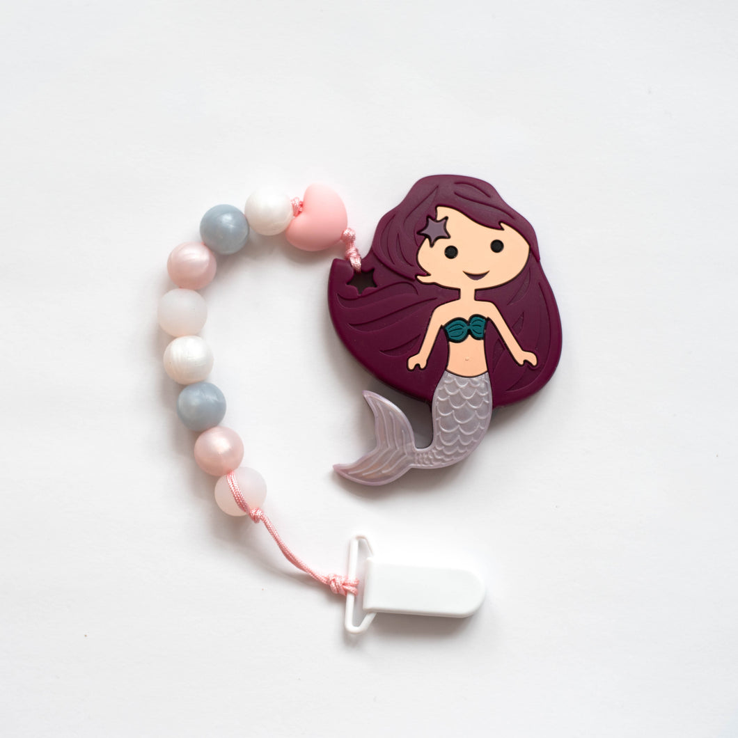 Mermaid Teething Clip