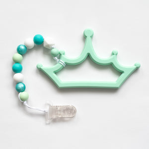 Crown Teething Clip