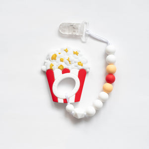 Popcorn Teething Clip