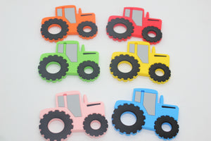 Tractor Teething Pendant©