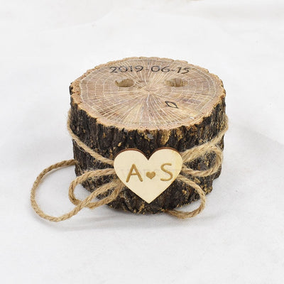 6 styles of custom pen cases for Rustic Wedding