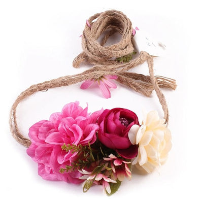BJ44 Floral Boho bridal Hairband (6 styles)