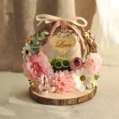 Handmade 47 styles of rustic Ring Holders for Wedding & Engagement