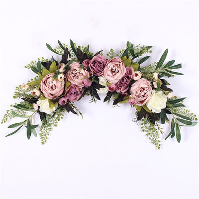 Artificial Peony Lintel Wall wedding Decoration (11 Colors)