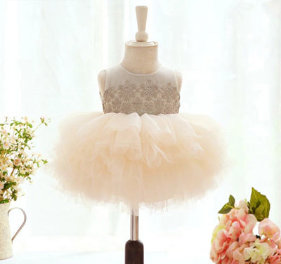 FG171 Sleeveless Lace Tutu Dresses