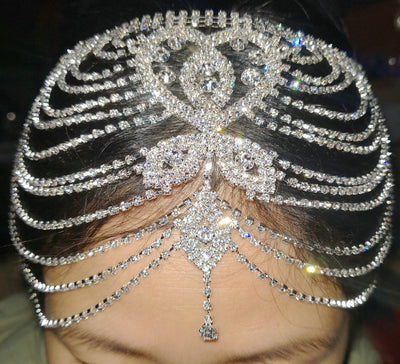 BJ41 Great Gatsby Crystal Hair Accessories