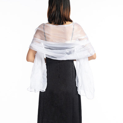 WJ28 Bridal Bridal Bolero Cape(15 Colors)
