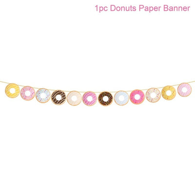 Collection of Donut theme Party Supply for DIY Wedding & Party