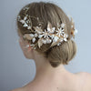 BJ189 Rhinestone flower Wedding headband