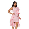 MX228 Ruffles design Cocktail Dresses(2 Colors)