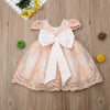 FG128  Embroidered Party Girl Dress