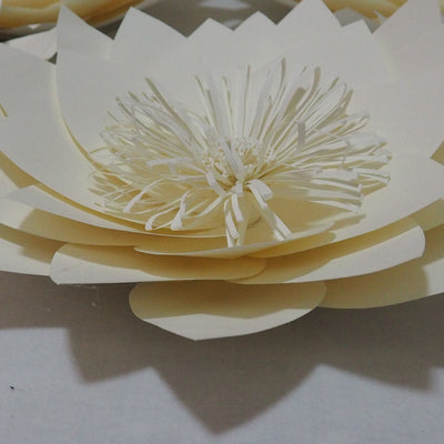 5 Different Paper Flowers For Wedding and Party Backdrops
