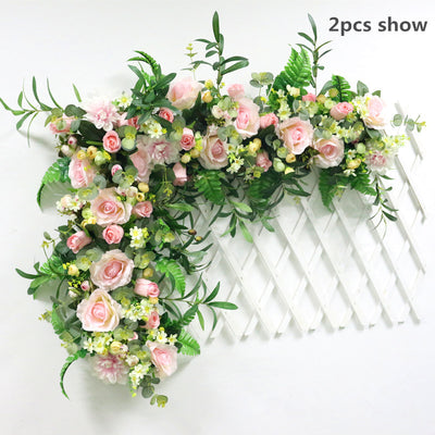 Artificial Flower Row For DIY Wedding Decor(9 Styles)